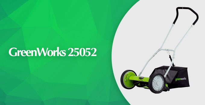 GreenWorks 25052 16-inch Reel Lawn Mower Review