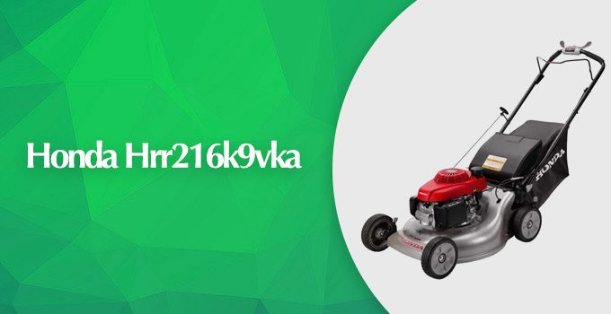 Honda HRR216K9VKA 3-in-1 Self-Propelled Gas Lawn Mower Review
