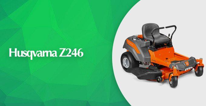 Husqvarna Z246 Briggs and Stratton 46-inch Zero Turn Lawn Mower Review