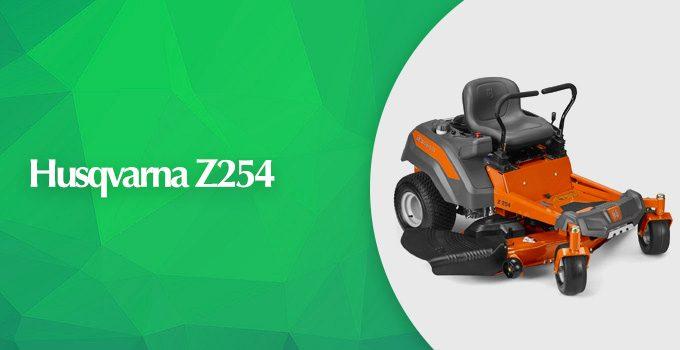 Husqvarna Z254 V-Twin Engine 54-inch Zero Turn Mower Review