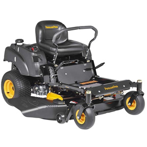 Poulan Pro P46ZX 22 HP Briggs V-Twin Pro Cutting Deck 46-Inch Zero Turn Radius Riding Mower
