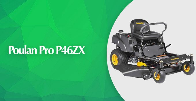 Poulan Pro P46ZX Briggs V-Twin Pro 46-Inch Zero Turn Mower Review