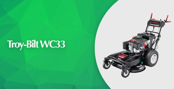 Troy-Bilt-WC33 33-inch Wide Cut RWD Lawn Mower Review