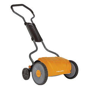 Fiskars 17 Inch Staysharp Push Reel Lawn Mower
