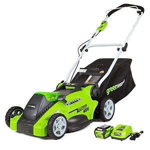 GreenWorks 2500502 DigiPro G-MAX 40V 19-Inch Cordless Lawn Mower