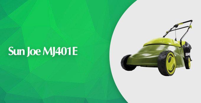 Sun Joe MJ401E Electric Lawn Mower Review